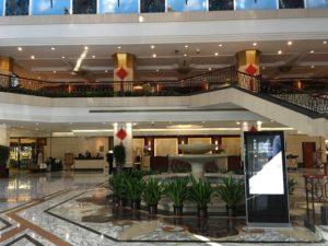 北京プライムホテル王府井ロビー