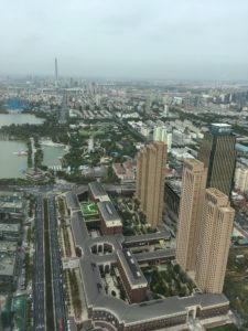 天津テレビ塔からの景色