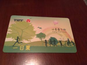 天津地下鉄1日乗車券