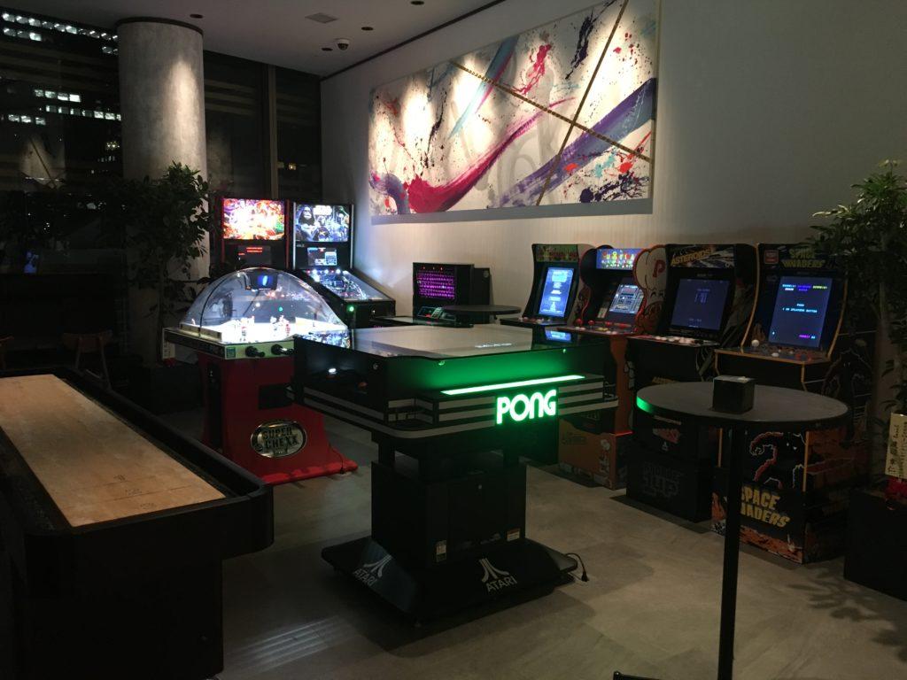 店内に置かれているゲーム機