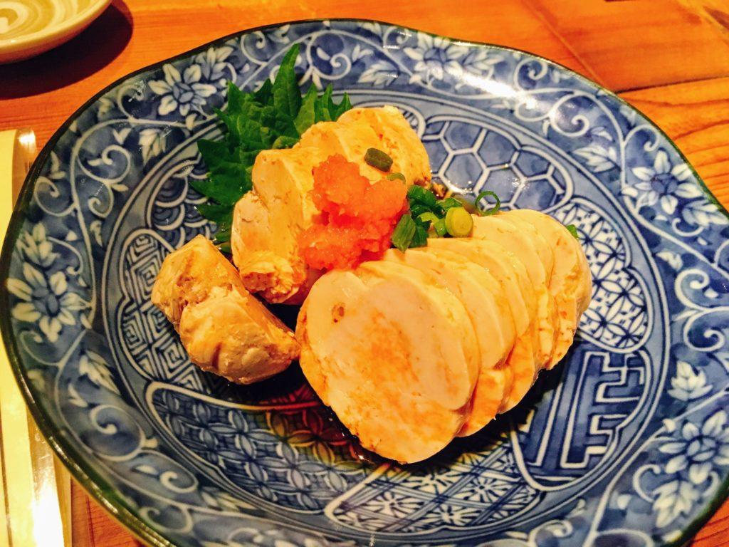 新宿西口にある飯場魚金のあん肝ポン酢の画像