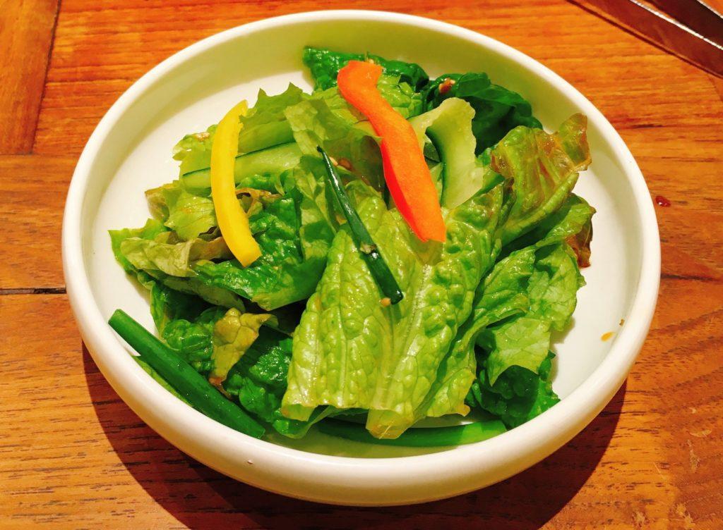 ぴょんぴょん舎のサラダ