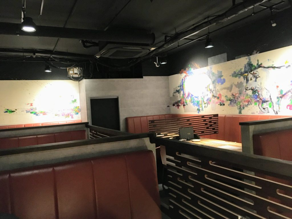 焼肉ますお新宿本店の店内写真