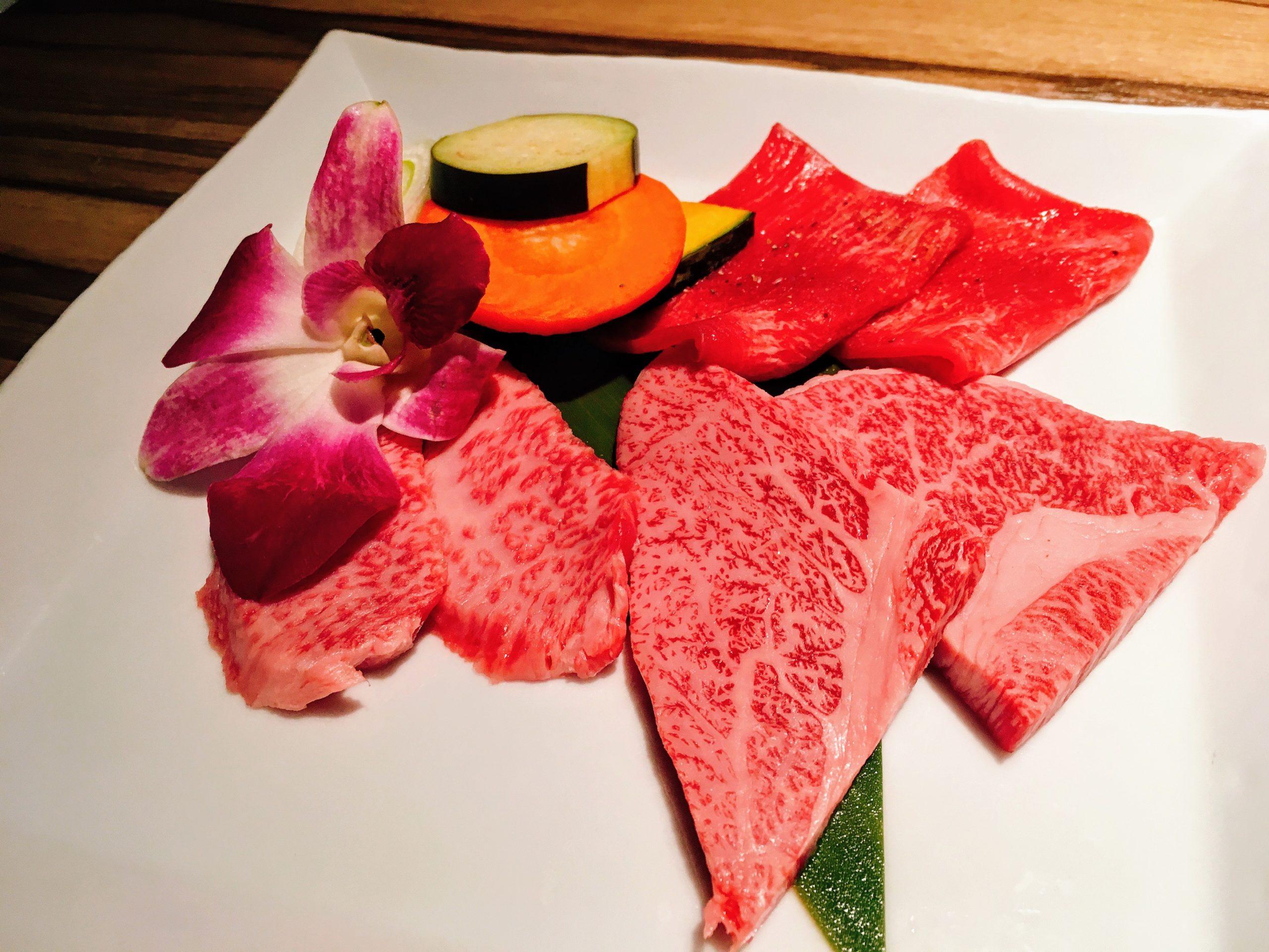 焼肉ますお新宿本店の焼肉Aランチの肉