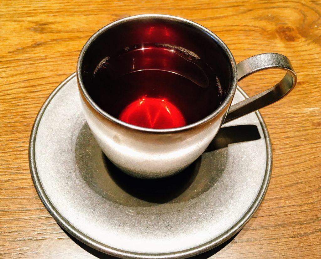 morethan grillの食後の紅茶