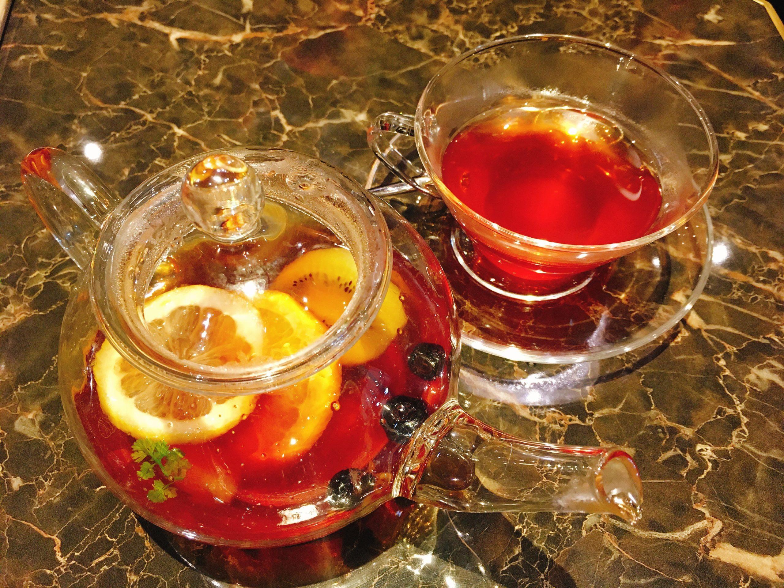 cafe marlyのフルーツティー
