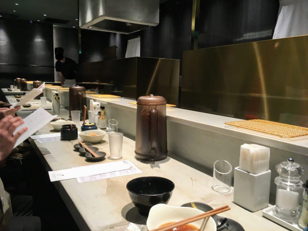 博多天ぷらたかお渋谷パルコ店の店内写真