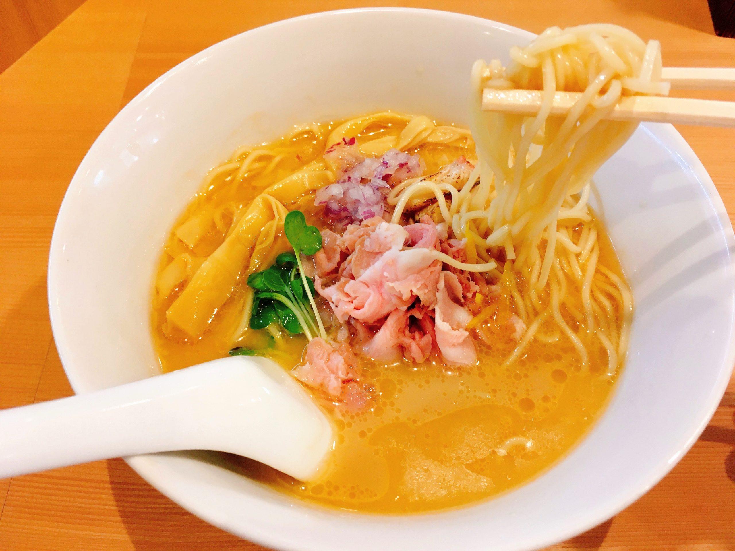 らぁ麺鳳仙花の金目鯛らぁ麺