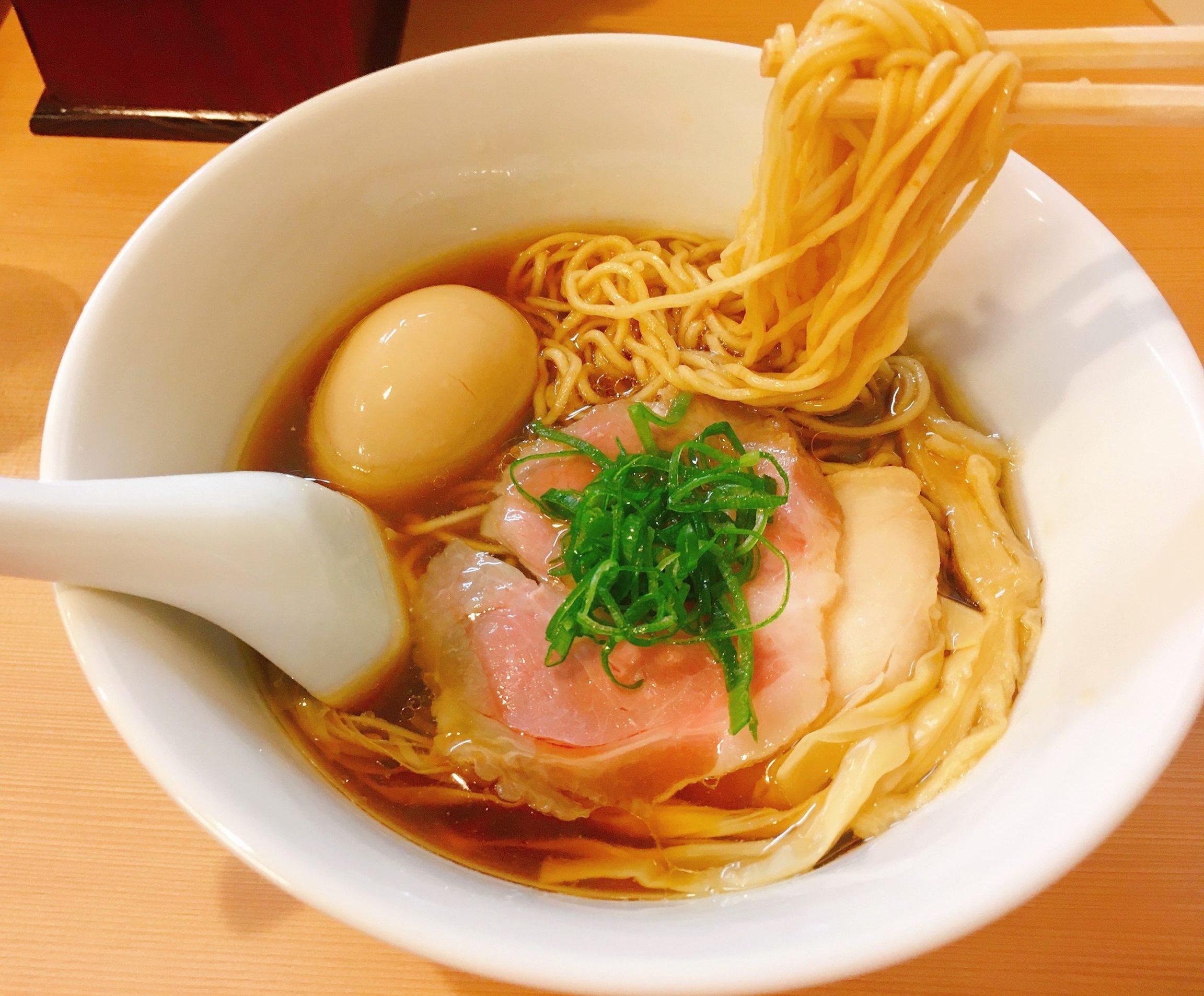 らぁ麺にし田の醤油らぁ麺