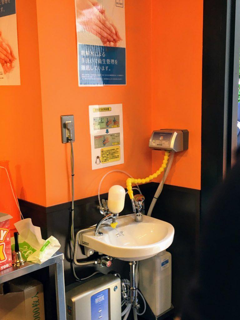 やっぱりステーキ吉祥寺店の手洗い場