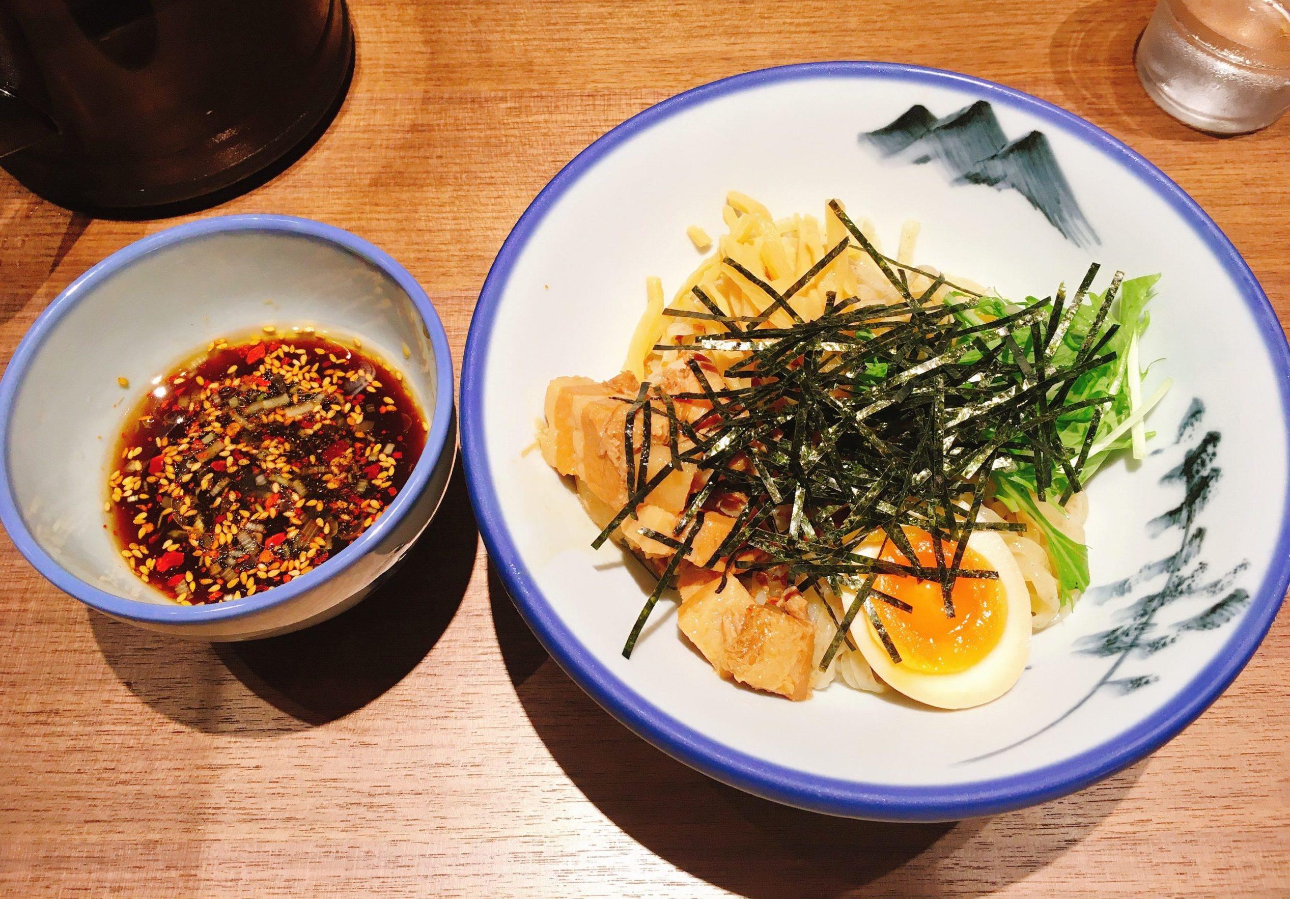AFURI新宿住友ビル店の柚子露つけ麺の写真