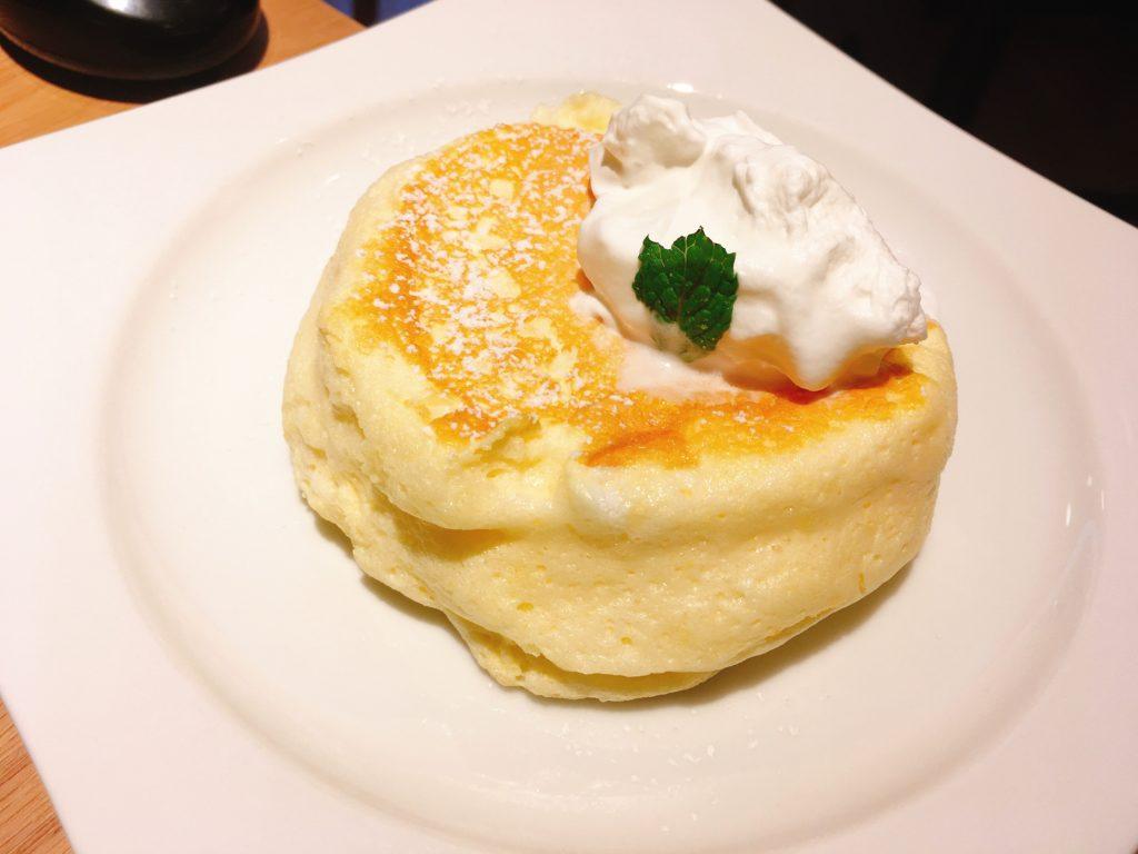 「むさしの森Diner」のパンケーキ