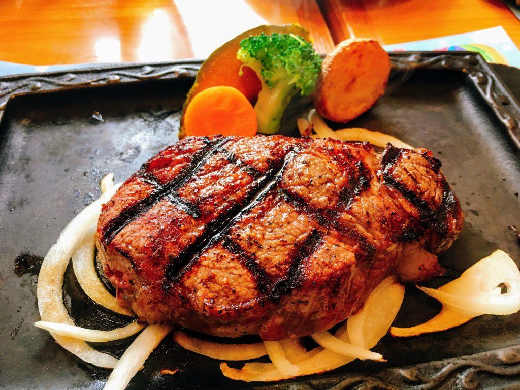 「炭焼きレストラン さわやか」の「さわやかステーキ」