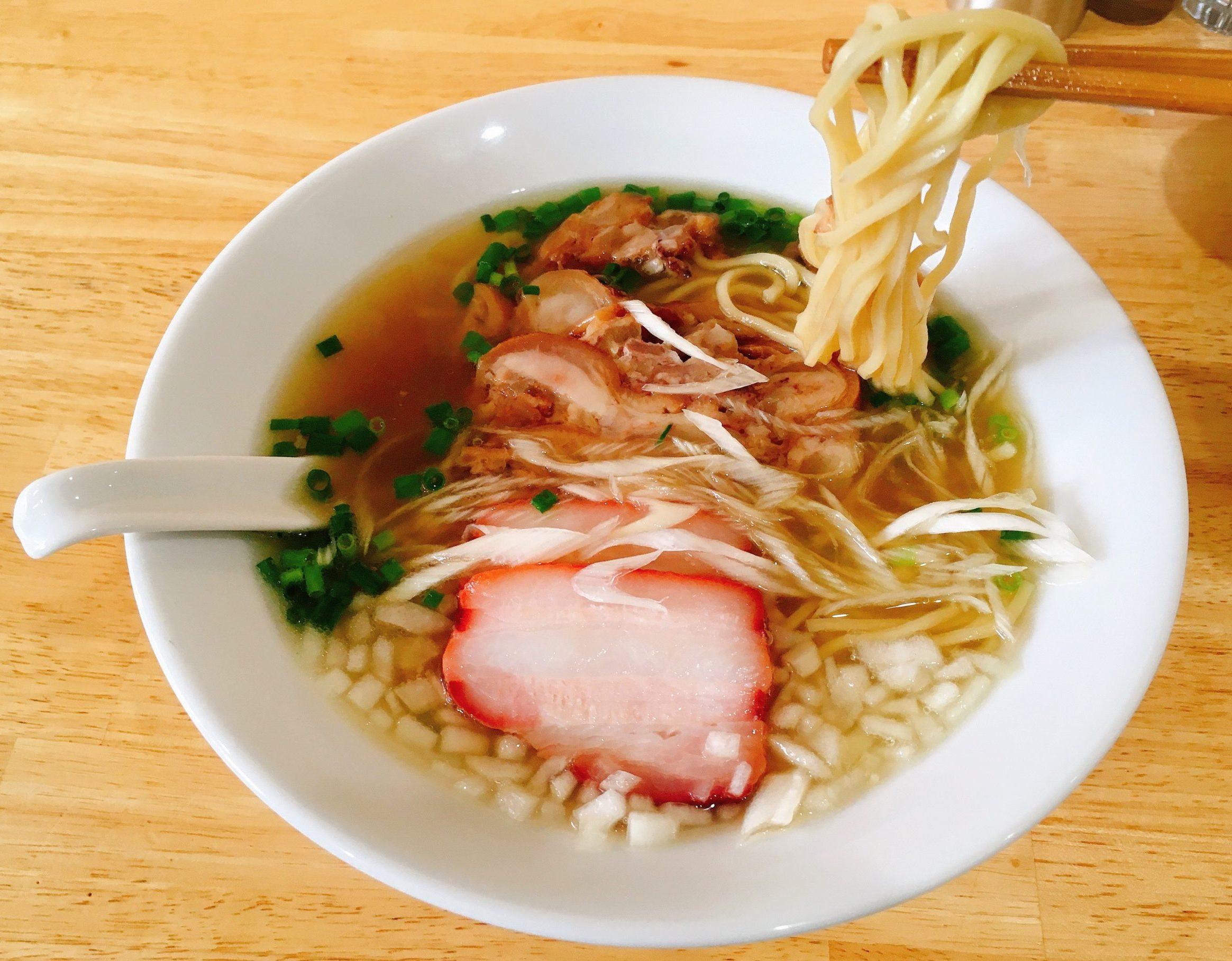 「中華そばYouLee」の「豚清湯そば」