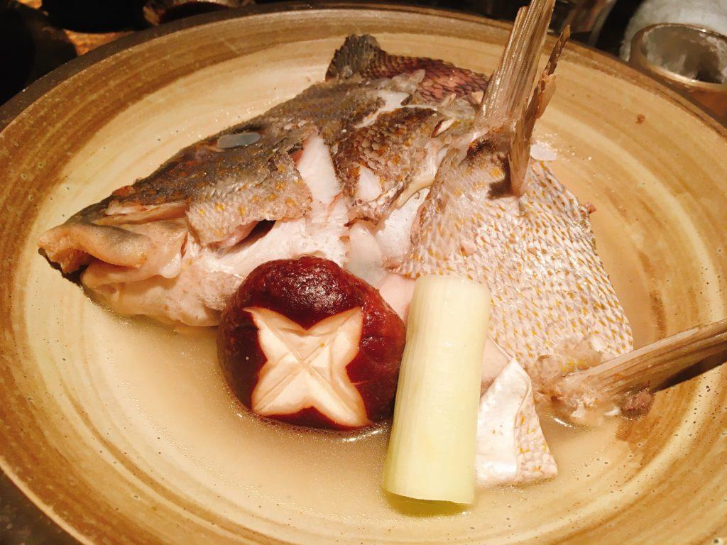 「ろばた翔」の煮魚
