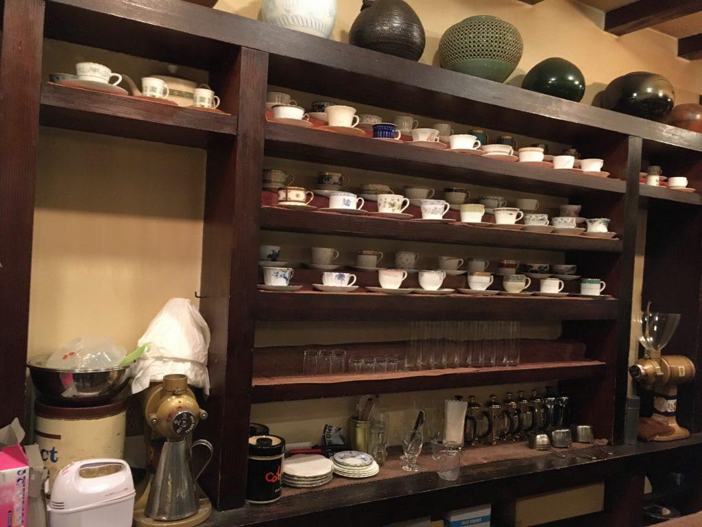 「皇琲亭」の店内写真