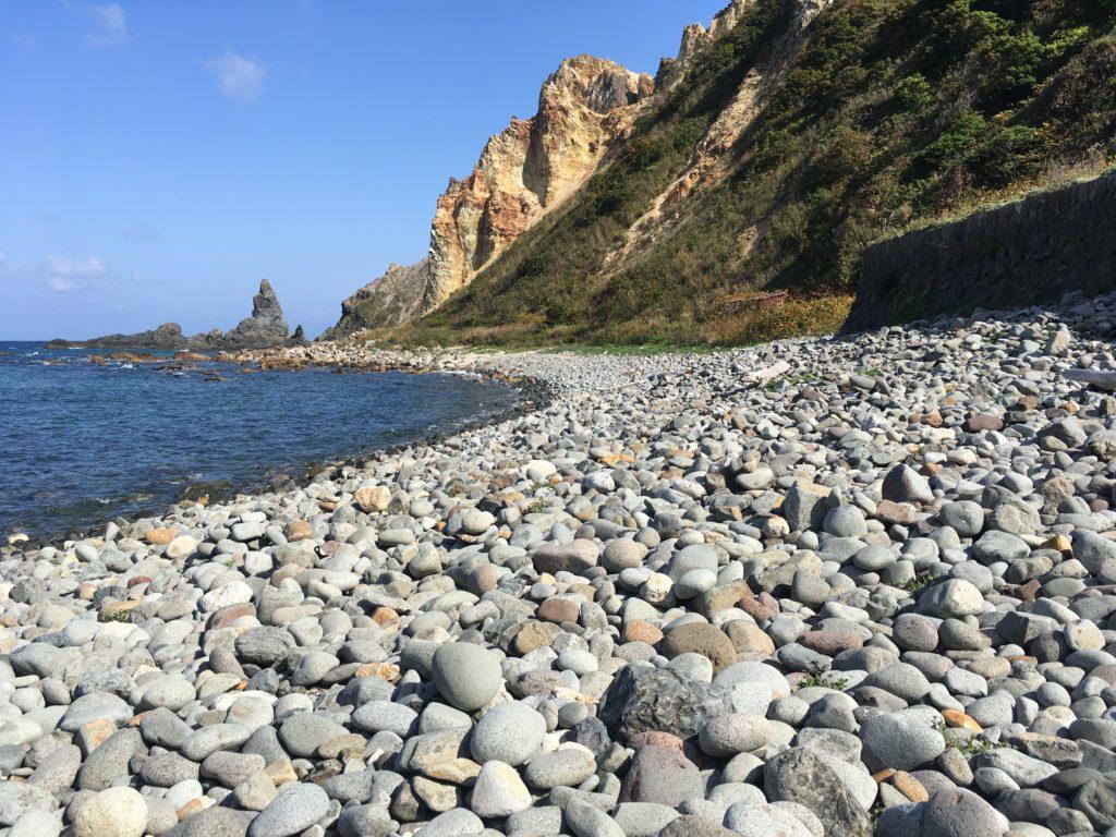島武意海岸の写真