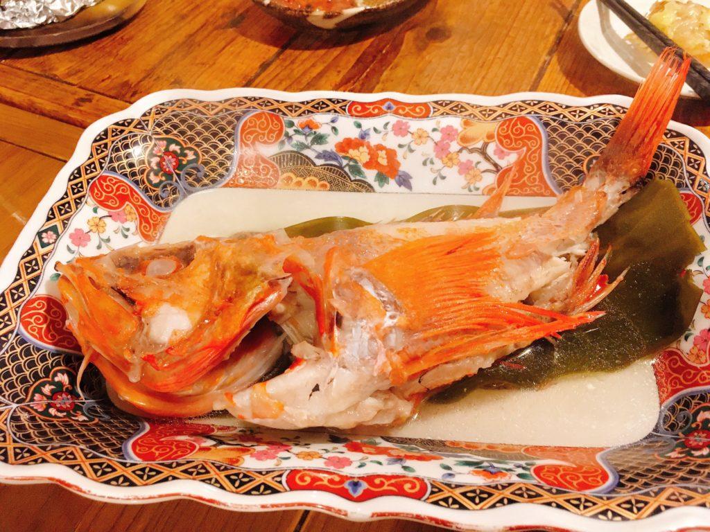 「海味はちきょう 別亭おやじ」のめんめの湯煮の写真