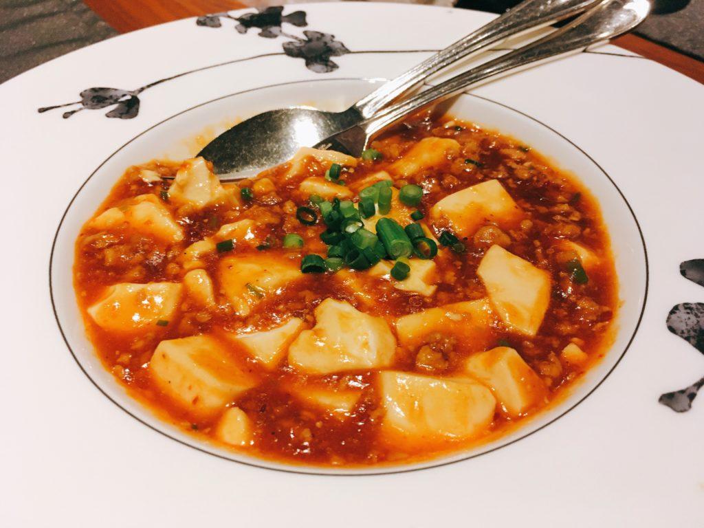 「王朝」の四川麻婆豆腐