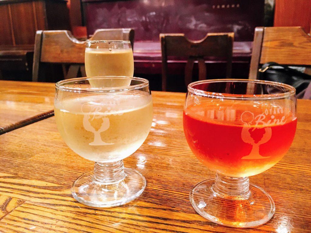 「小樽バイン」のワインの写真