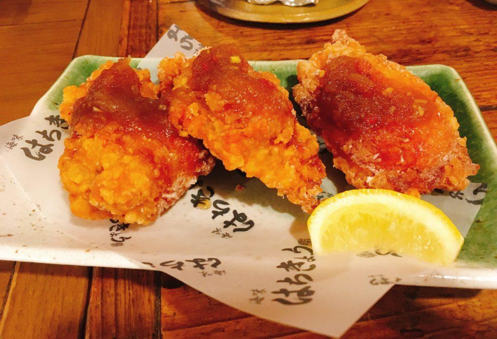 「海味はちきょう 別亭おやじ」のはちきょう特製なまら鶏ザンギの写真
