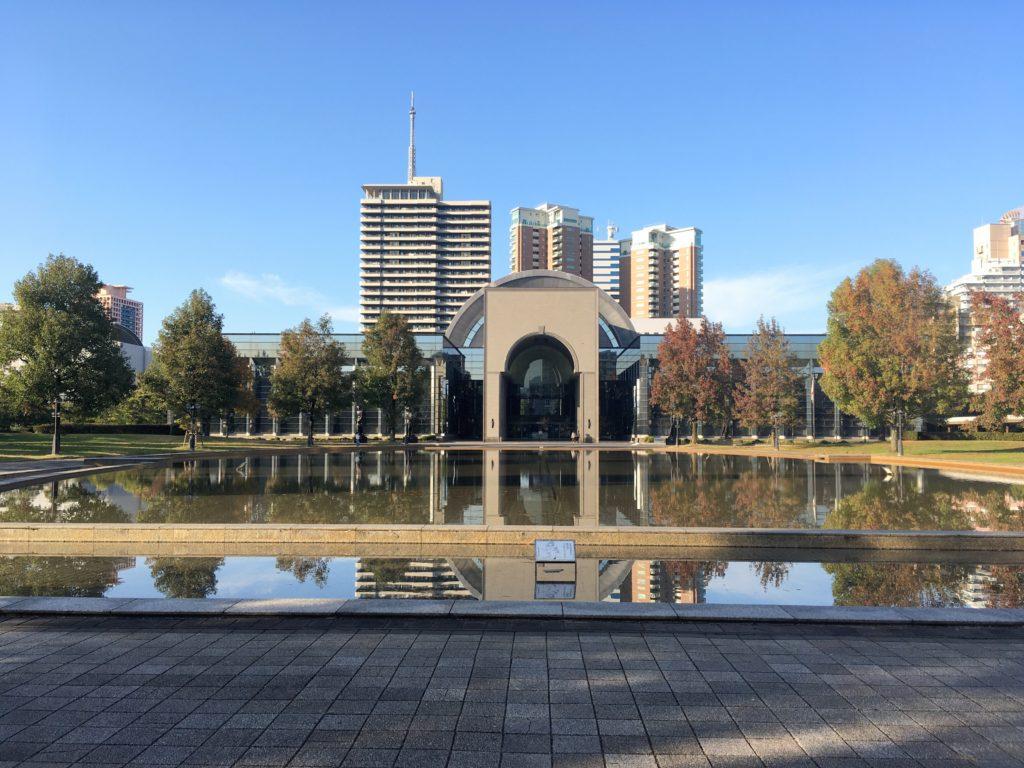 福岡市博物館の外観写真