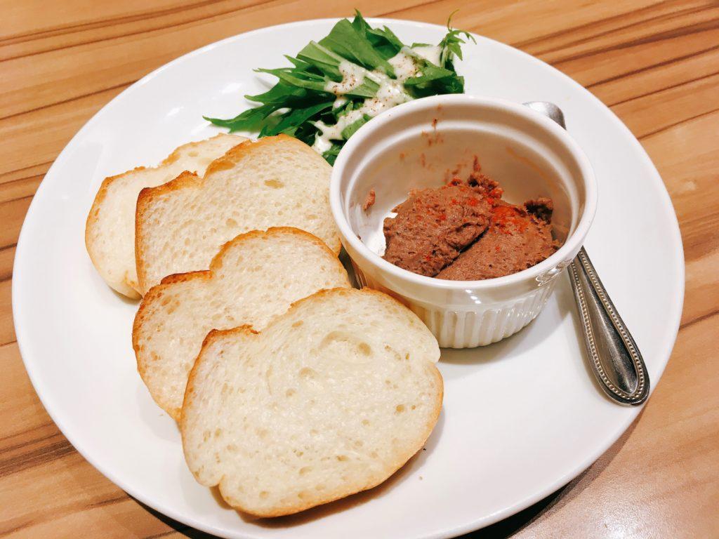 「博多たんか」の牛タンのパテの写真