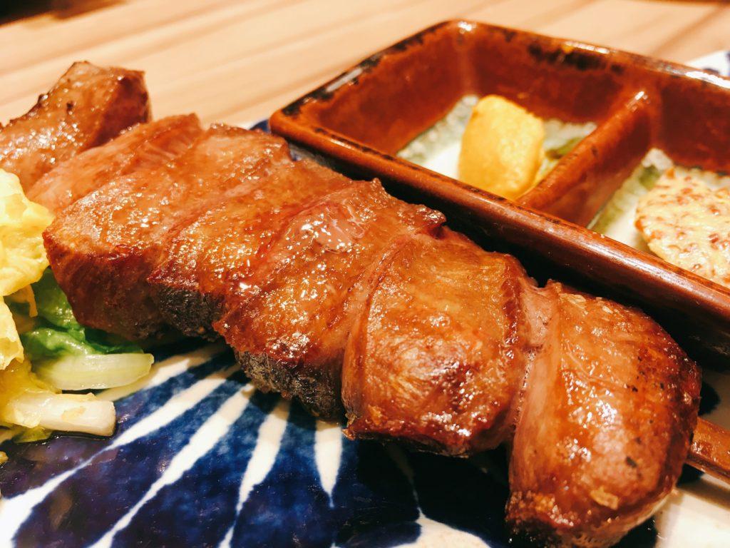 「博多たんか」のたんかの牛タン焼き