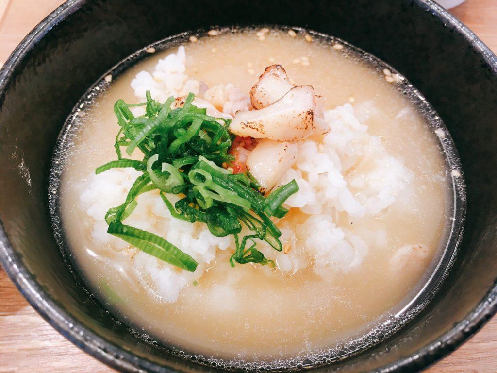 「らぁ麺 鳳仙花 綱島店」の「金目鯛茶漬け」の写真