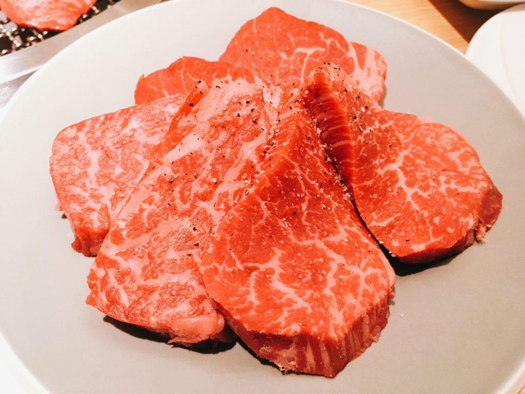 肉屋横丁のヒレ肉