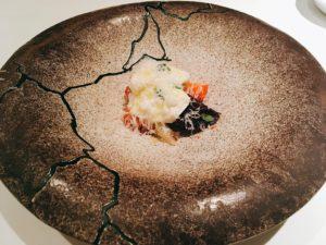 「VIA Brianza」の「ブッラータチーズのカプレーゼ仕立て」