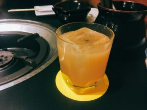 「蟻月 恵比寿店」の「とろとろ桃」の写真