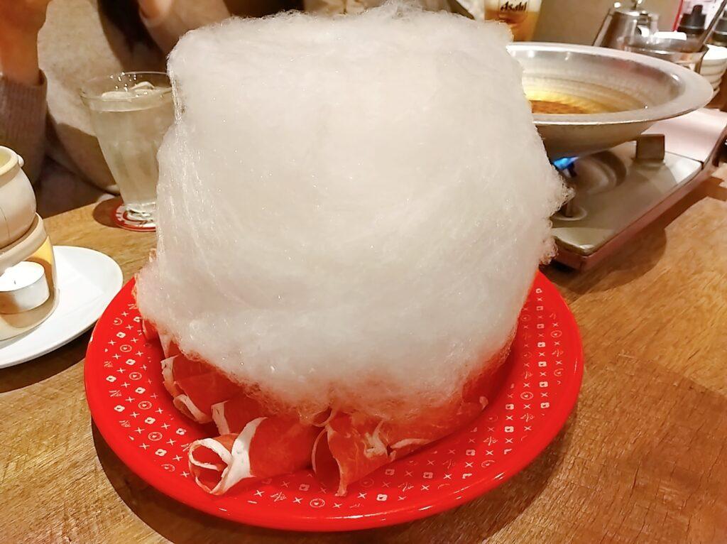 「めり乃 新宿店」の綿あめの写真