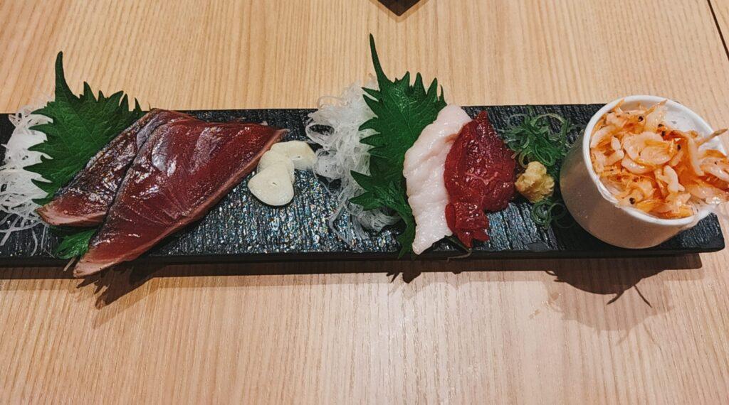 「鮨・酒・肴 杉玉 日吉」の「杉玉のお花見 肴盛合せ」の写真
