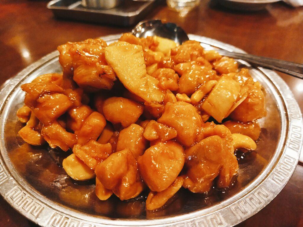 「麗郷 渋谷店」の腰果鶏丁の写真