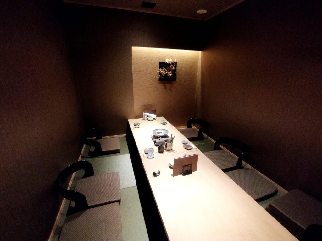 「品川 六献」の個室の写真
