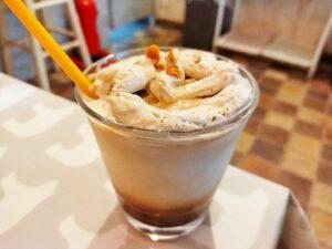 「はちくまカフェ 池袋店」の「ハニーマロンラテ」の写真