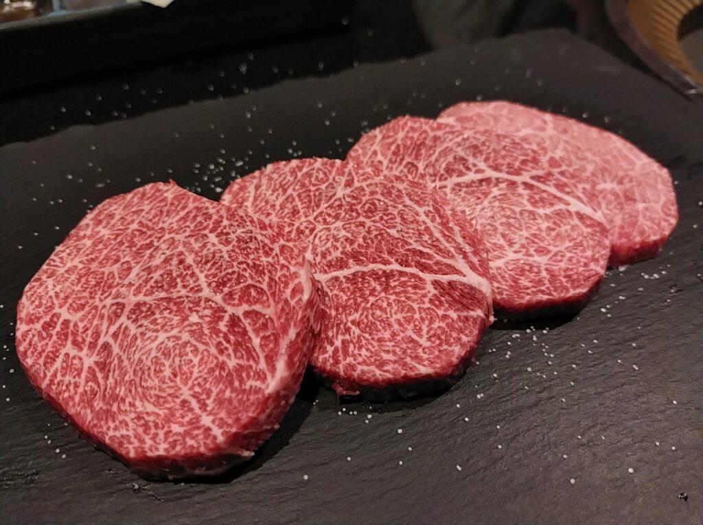 「焼肉ステーキあつし」のトウガラシの写真
