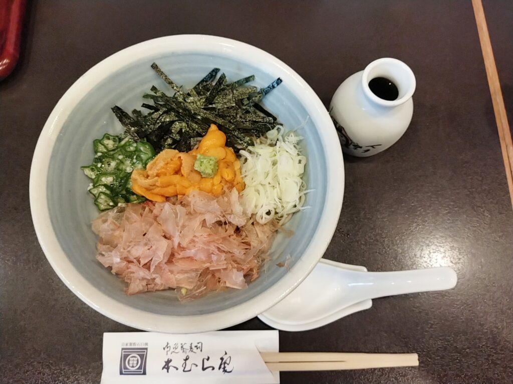 「本むら庵 荻窪本店」の「雲丹そば」の写真