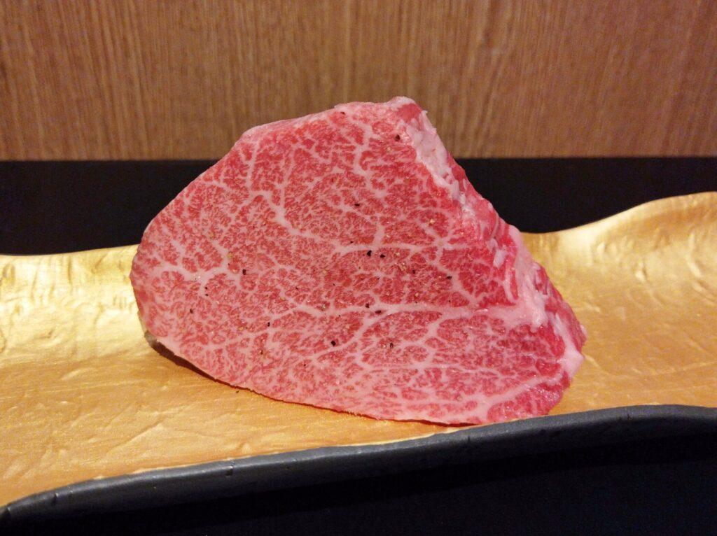 「焼肉 牛印 新宿店」のシャトーブリアンの写真